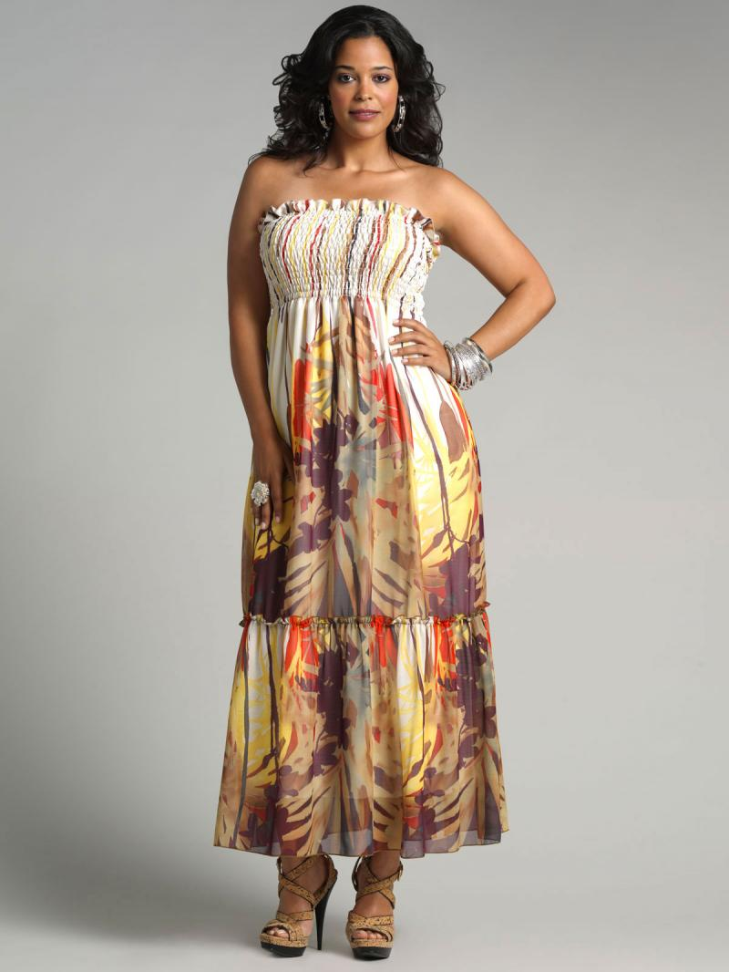 Above: Border Print Dress, $59, Sizes 16-20